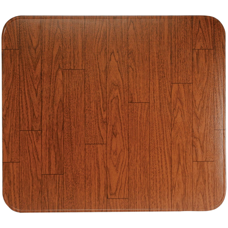 """HY-C T2UL2832WW-1C Type 2 UL1618 Woodgrain Tile Stove Board (28"""" x 32"""")"""