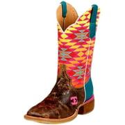 Cinch Western Boots Womens Cowboy Leather Fritzy Edge Tan CEW125