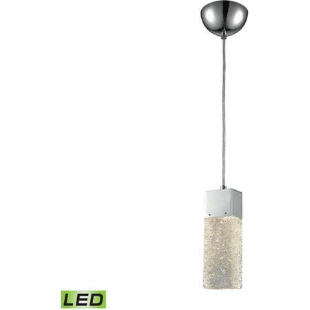 World of Lamp WLA178548 Pendants Polished Chrome Metal Glass Torrance