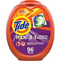 Tide Pods Spring Meadow, Laundry Detergent Pacs, 96 ct.