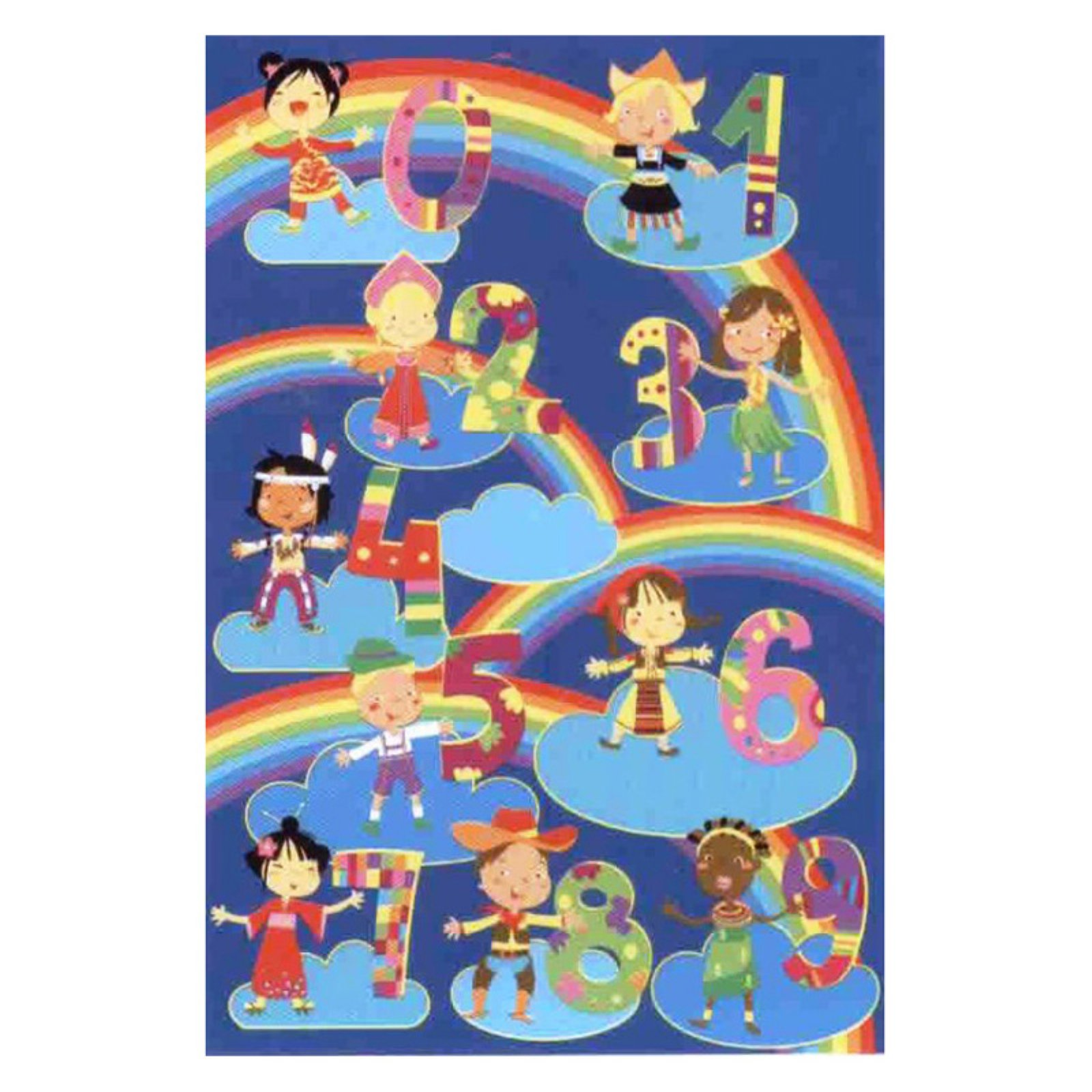 "Fun Rugs Kids & Numbers 19"" x 29"" Rug"