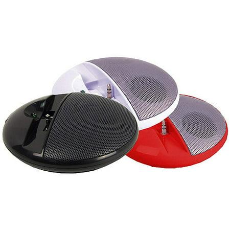 Supersonic Portable MP3 Speaker, White