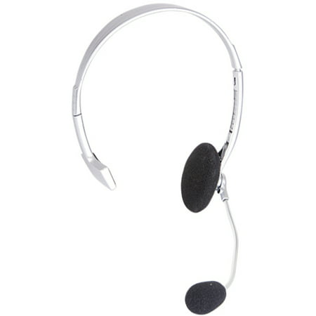 Pop Singer Telemarketer Pit Crew Silver Microphone Headset Costume - Prince Singer Costume