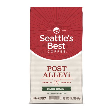 Seattles Best Coffee Post Alley Blend  Previously Signature Blend No  5  Dark Roast Ground Coffee  20 Ounce Bag