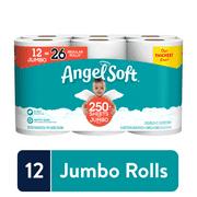 Angel Soft Toilet Paper, 12 Jumbo Rolls