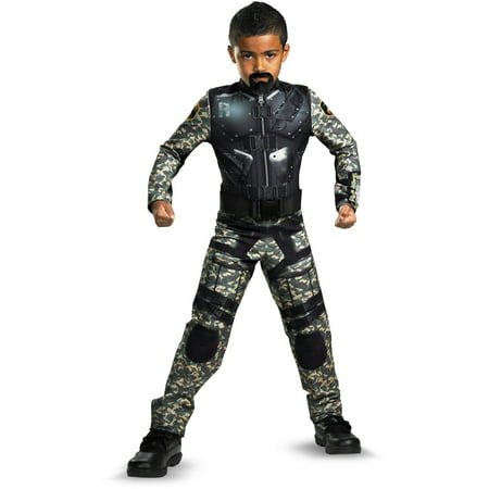 Adult Gi Joe Costume (Child GI Joe Retaliation Roadblock Classic)