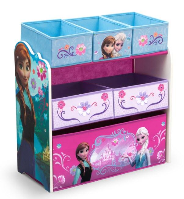 Disney Frozen Multi-Bin Toy Organizer by Delta Children