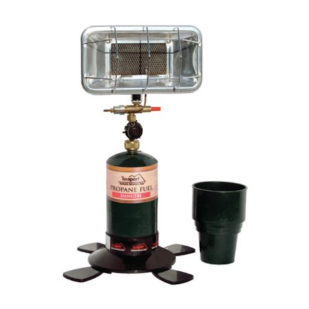 Texsport 3,000 BTU Portable Propane Tank Top Heater