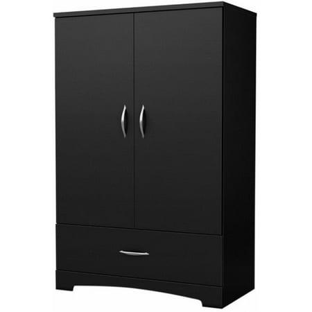 Armoire Furniture Closet Wardrobe Storage Black Bedroom Clothes Cabinet Dresser Pulaski Furniture Bedroom Armoire