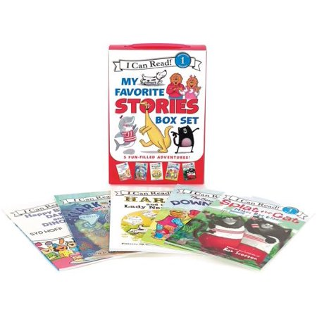 I Can Read My Favorite Stories Box Set : Happy Birthday, Danny and the Dinosaur!; Clark the Shark: Tooth Trouble; Harry and the Lady Next Door; The Berenstain Bears: Down on the Farm; Splat the Cat Makes Dad