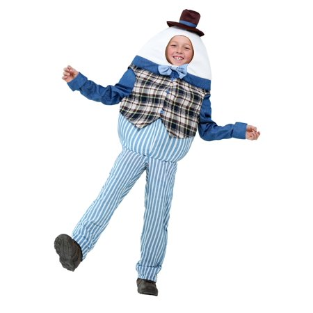 Classic Humpty Dumpty Kids Costume (Humpty Dumpty Dress Up)
