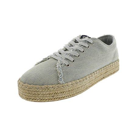 Shoe Blue Denim (Tretorn Women's Eve Denim Light Blue Ankle-High Fashion Sneaker - 4.5M)