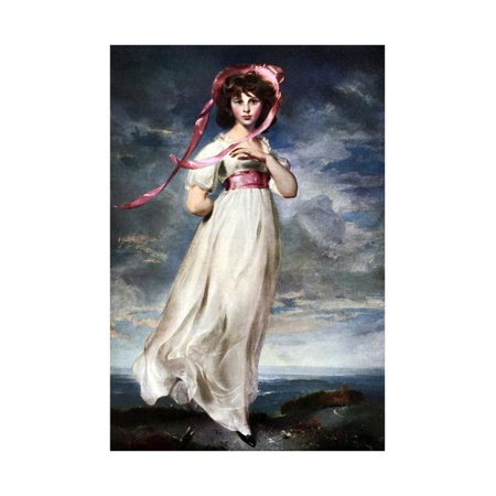 - Sarah Barrett Moulin (Pinkie), 1794 Print Wall Art By Thomas Lawrence
