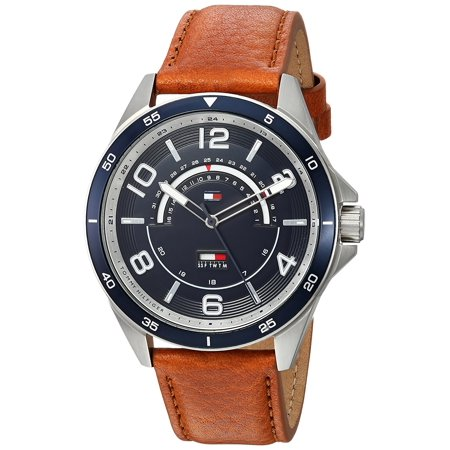 Tommy Hilfiger Sport Leather Mens Watch 1791391