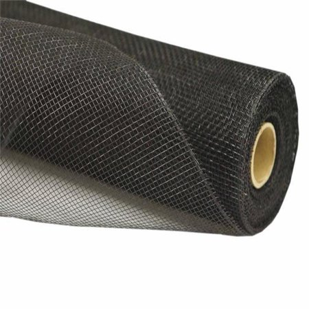- 21 inch x 10 yard Twirl-N-Wrap Mesh Roll - Black