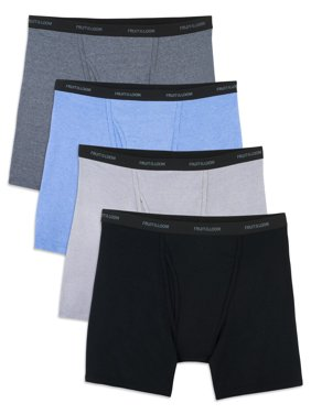 Fruit of the Loom Men's Beyondsoft Boxer Briefs, 4 Pack, Size 2XL