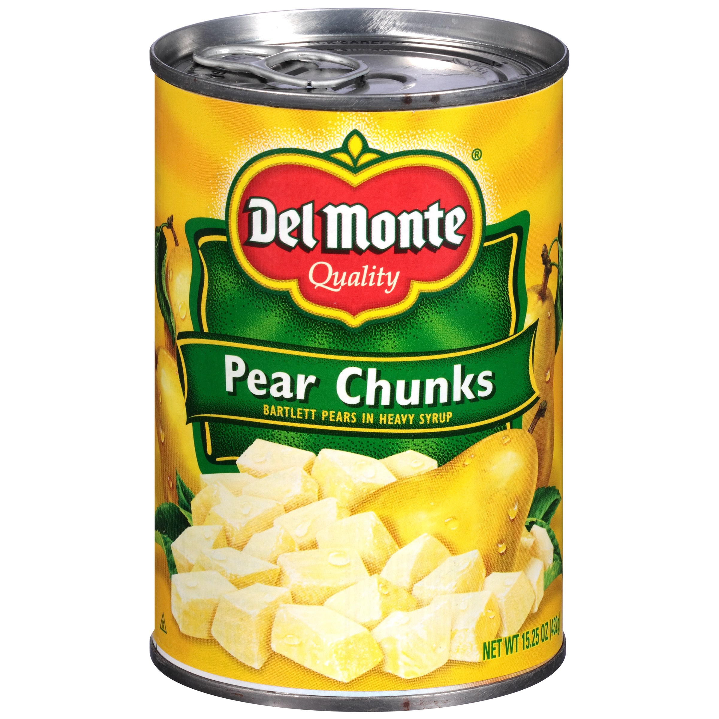 Del Monte Pear Chunks Bartlett Pears in Heavy Syrup 15.25 oz. Can by Del Monte Foods