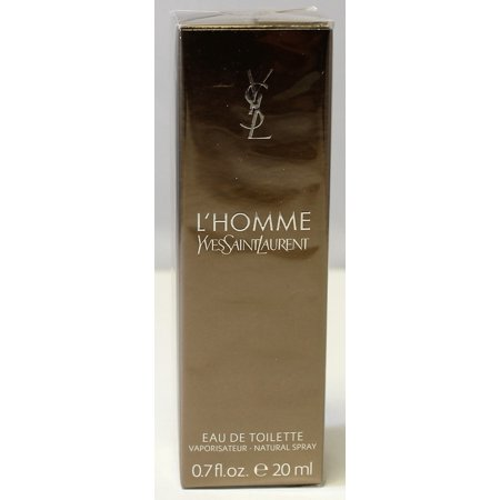 - YSL L'Homme By Yves Saint Laurent 0.7 oz /20 ml Eau De Toilette Travel Spray New