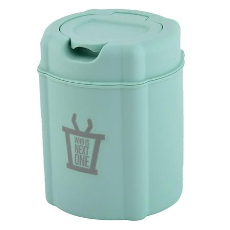 Household Desk Plastic Seedcase Waste Trash Bin Rubbish