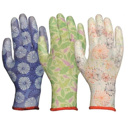 Atlas Glove C2603APM Medium Assorted Breathable Polyurethane Palm Womens Gloves Pack Of 12