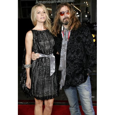 Sheri Moon Rob Zombie At Arrivals For Halloween Premiere GraumanS Chinese Theatre Los Angeles Ca August 23 2007 Photo By Adam OrchonEverett Collection Celebrity - Celebrity Halloween Party Los Angeles