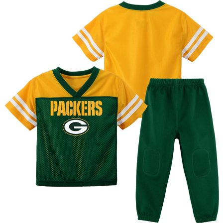 NFL Green Bay Packers Toddler Short Sleeve Top and Pant Set by