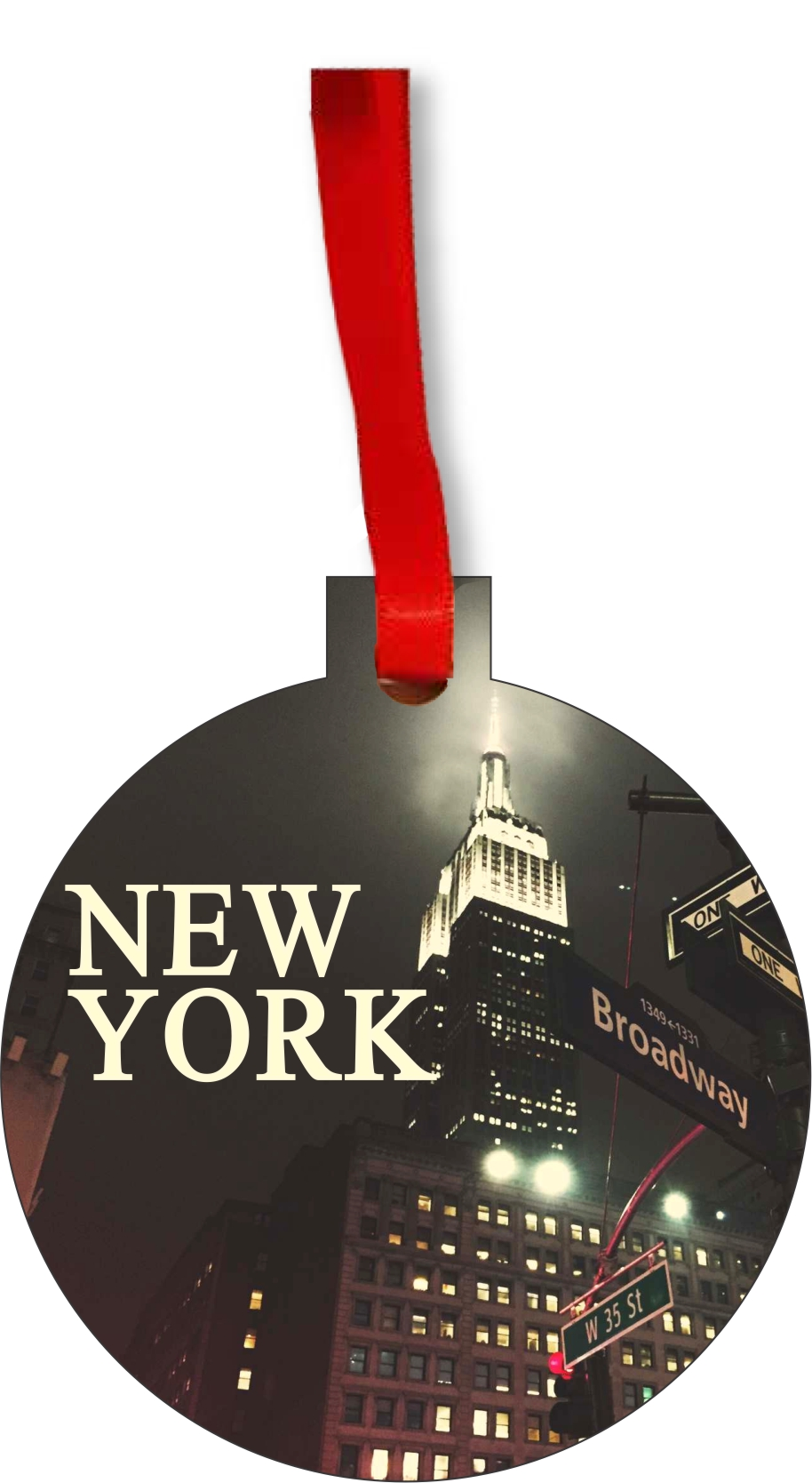 Empire State Building Christmas Ornament - NYC Christmas ...