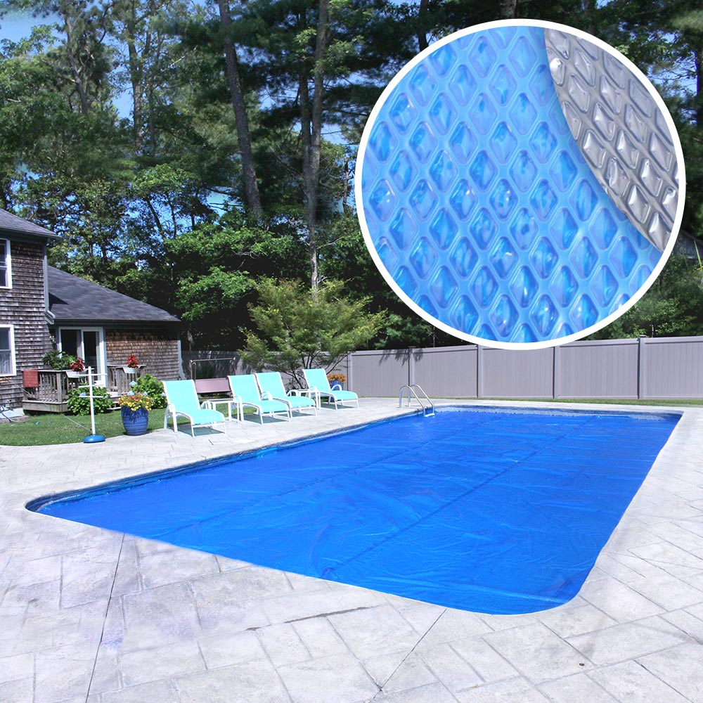 Robelle Heavy-Duty Space Age Diamond Solar Cover for In-Ground Swimming Pool by Robelle