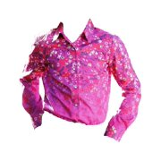 Cruel Girl Western Shirt Girl Infant L/S Floral Snap Purple CTW3142003