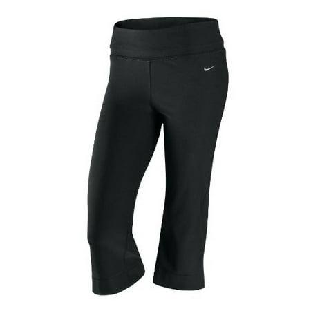 Nike Dri-Fit Be Strong Womens Athletic Capri Black