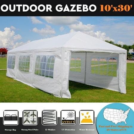 Metal Tent (10'x30' Wedding Party Tent with Metal Connectors -)