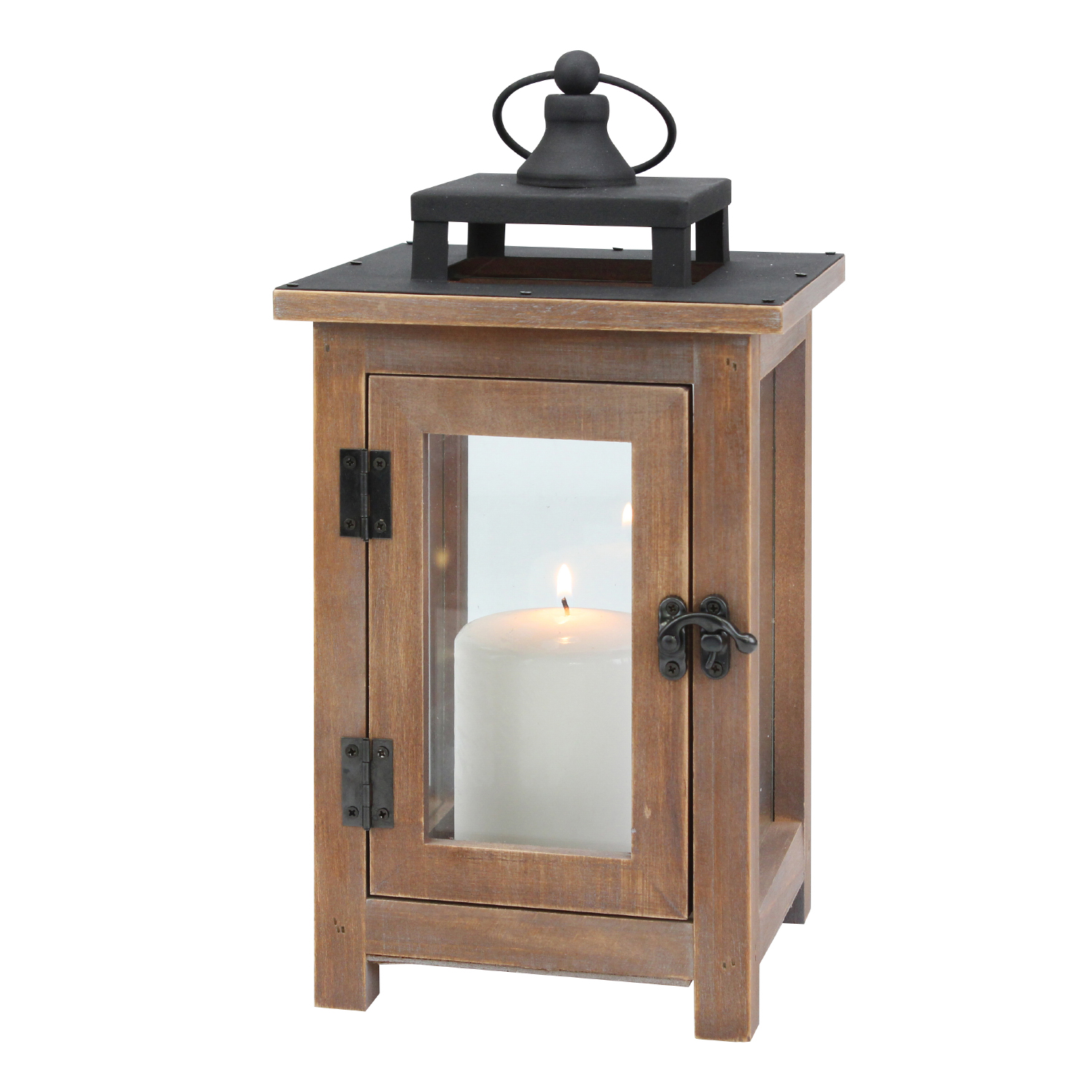 Better Homes & Gardens, Wood and Metal Lantern