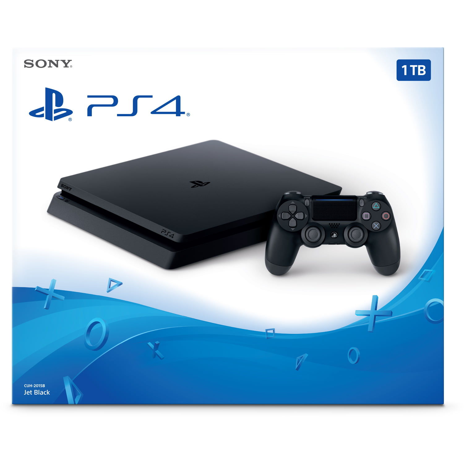 Sony PlayStation 4 1TB Slim Gaming Console, CUH-2215BB01 - Walmart com