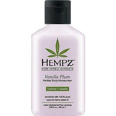 Herbal Jasmine Moisturizer (Hempz Vanilla Plum Herbal Moisturizer 2.25 oz )