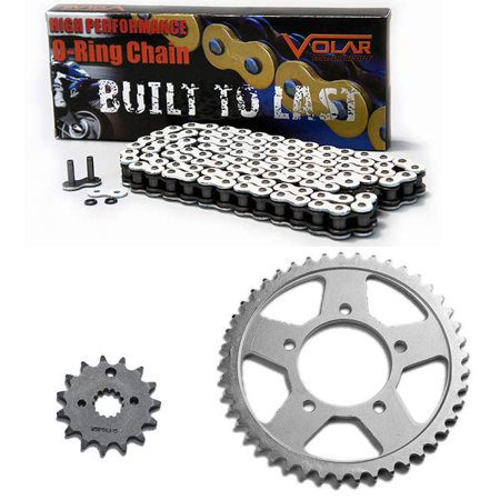 1996-2003 Suzuki Bandit 600 GSF600S O-Ring Chain and Sprocket Kit - White