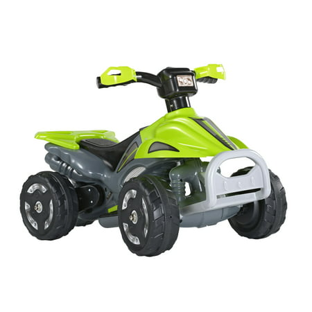 Kids Ride On 6V Battery Powered ATV Quad Green