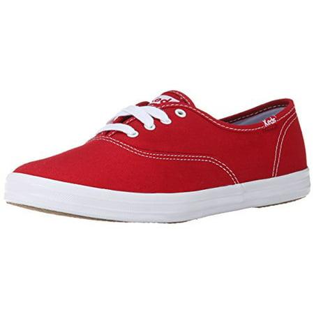 5648843aab6 Keds - Keds Women s Champion Originals Red Ankle-High Fabric Tennis Shoe -  9M - Walmart.com
