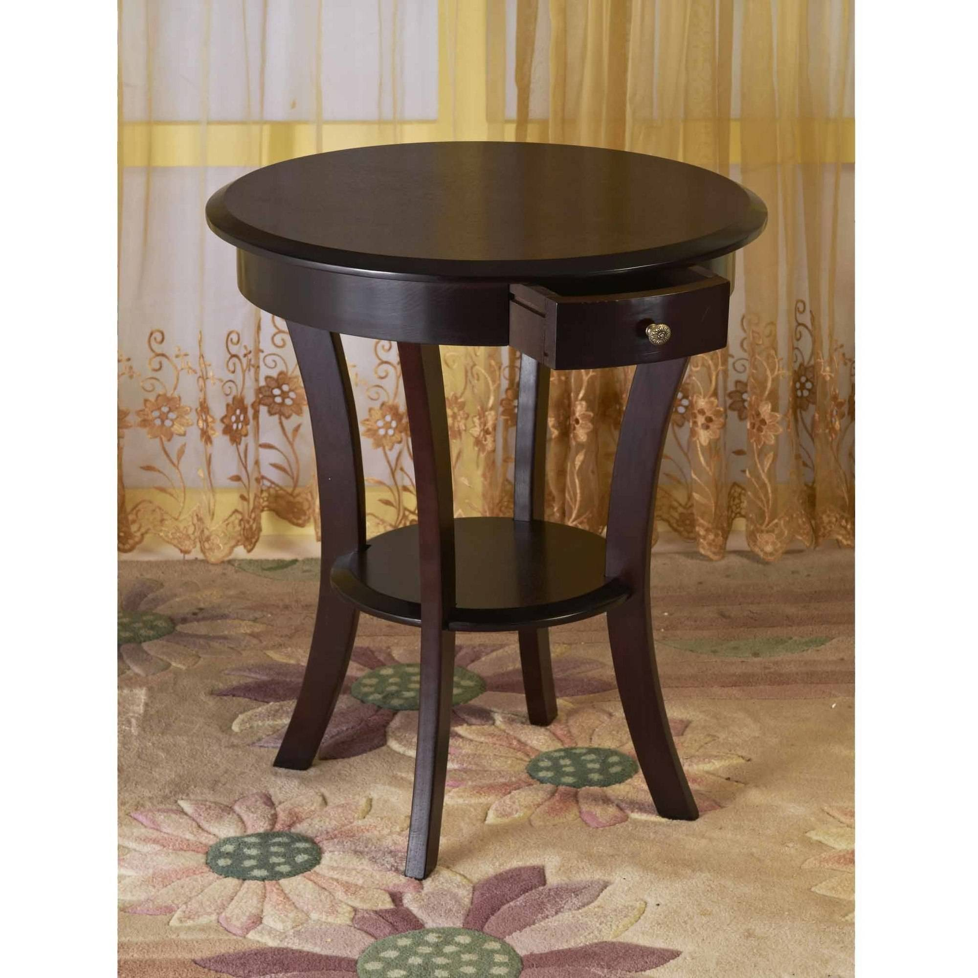 Home Craft Round End Table