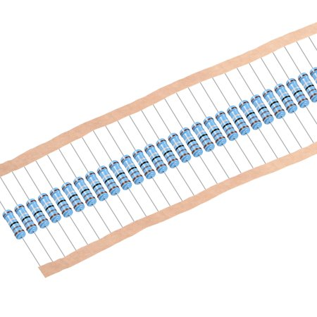 200pcs Metal Film Resistors 1.8 Ohm 1W 1%Tolerances 5 Color Bands - image 4 de 4