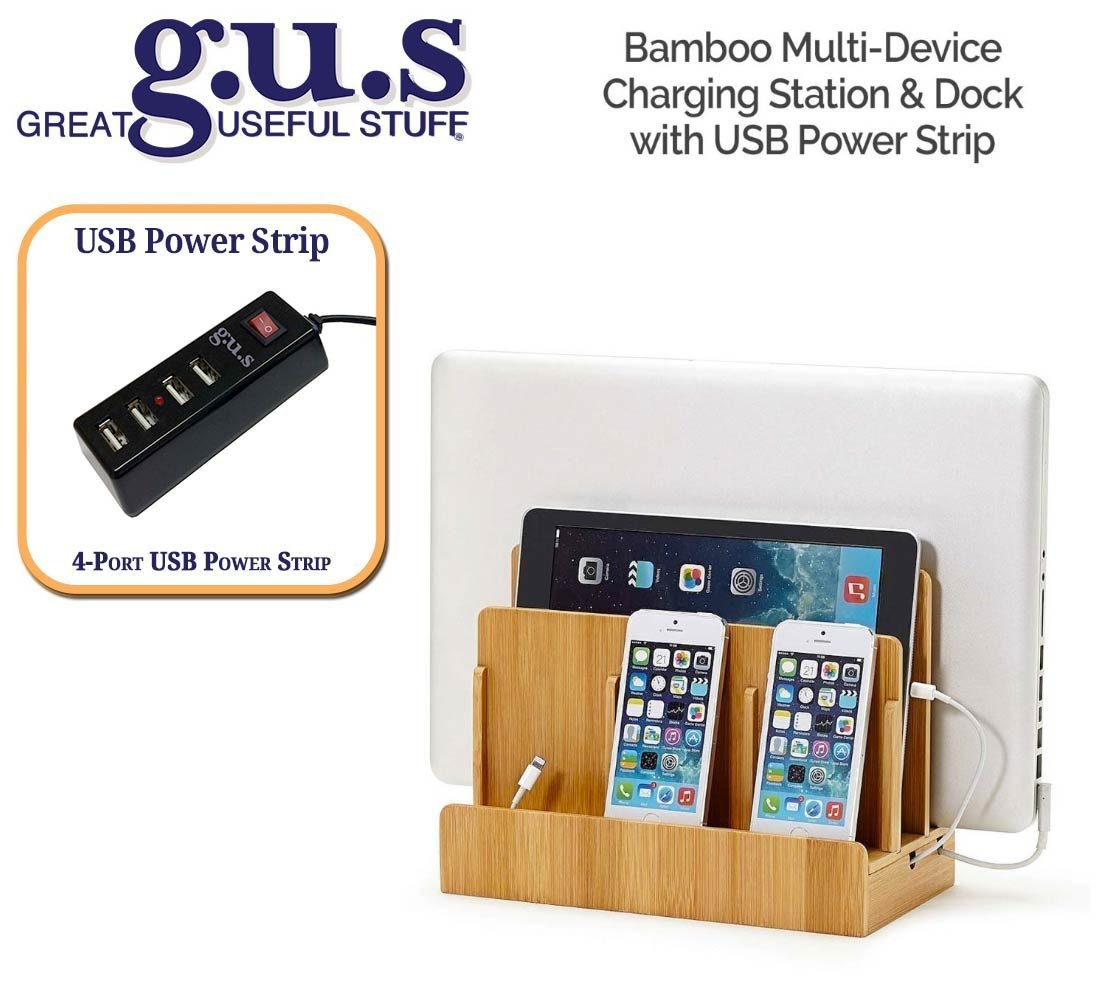 G.U.S. Multi_Device Charging Station Dock Organizer _ Mul...