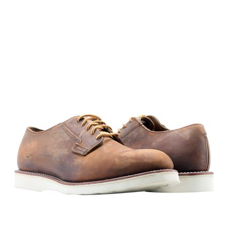 Red Wing Heritage Postman Oxford 3107 Copper Rough Men's Shoes -