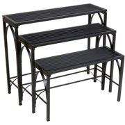 Panacea Gothic 3-Tier Nesting Plant Stand