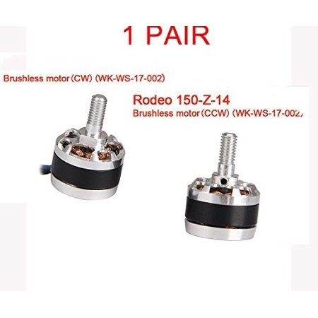 Walkera 1Pair RODEO 150 RC Racing Quadcopter Spare Parts Rodeo150Z1314 Brushless Motor CW CCW WKWS17002