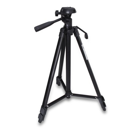 "53"" Professional Travel Outdoor Photo/Video Camera Small Quick Release Tripod Stand for Canon, Nikon, Sony, Samsung, Olympus, Panasonic & Pentax + eCost Digital DSLR Camera"