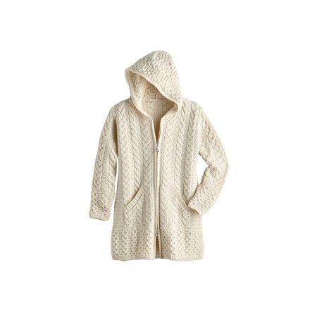 Women's Brigid Hooded Aran Cardigan ()