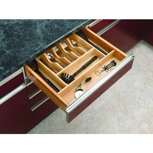 Rev-A-Shelf  4WCT-3  Cutlery Organizers  4WCT  Drawer Organizers  tural Wood