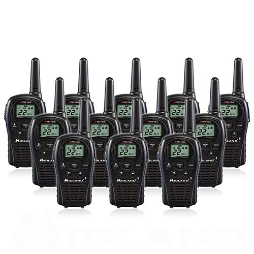 Midland LXT500VP3 (12 Radios) 2Way Radio