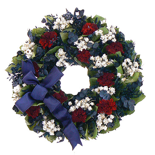 Urban Florals Land of the Free Wreath