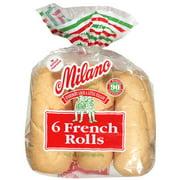 "Milano 6"" French Rolls, 6 ct, 16 oz"