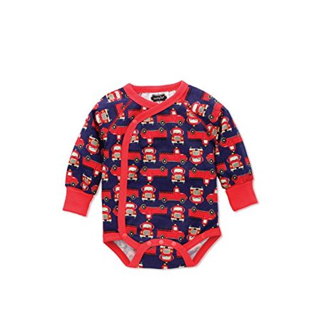 mud pie fire truck crawler baby bodysuit 1032146 (0-3 m) - Mud Pie Halloween Baby